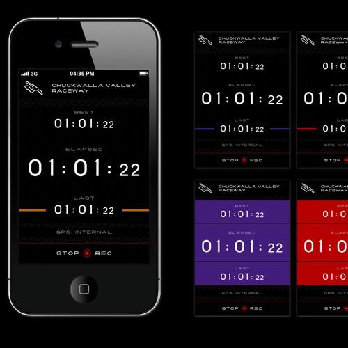 iPhone motorsports app