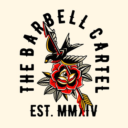 The Barbell Cartel Tshirt design
