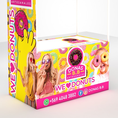 Kiosc Design Concept 3D