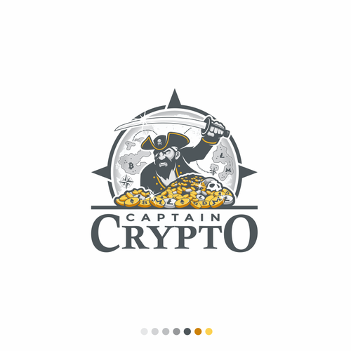 Logo design for cryptocurrency show.