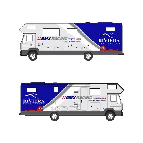 Truck/Van Wrap Design