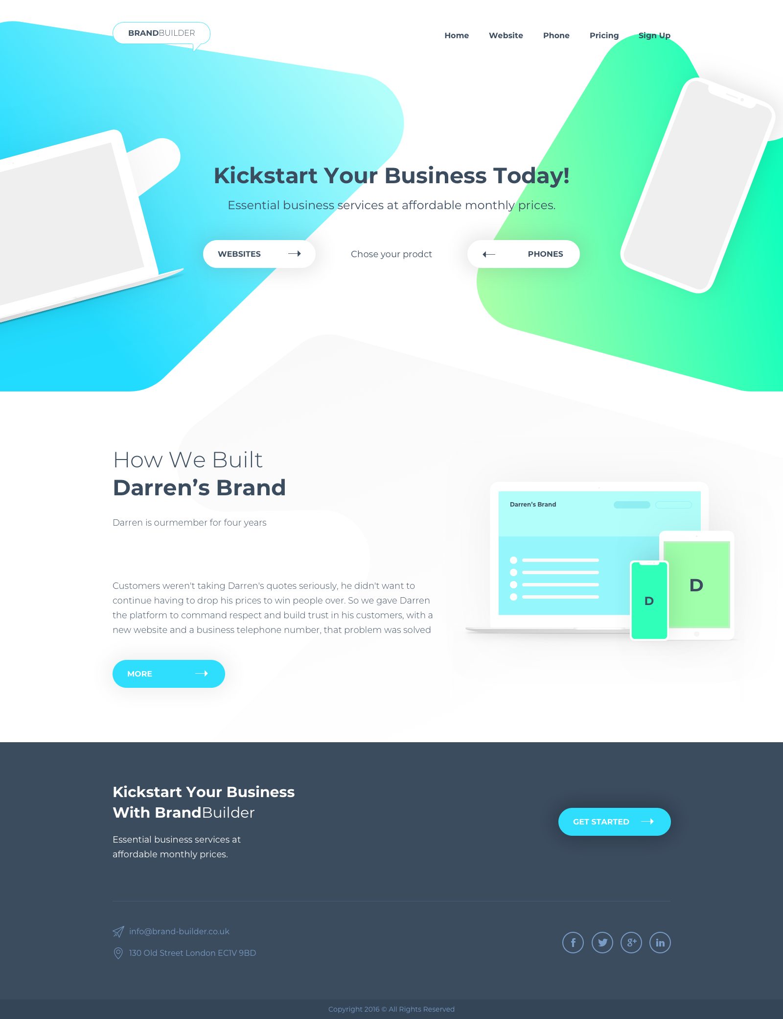 Business Consultancy Needs Visually Stunning Website Template