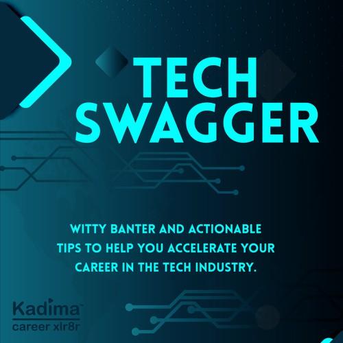 Tech Podcast Flyer