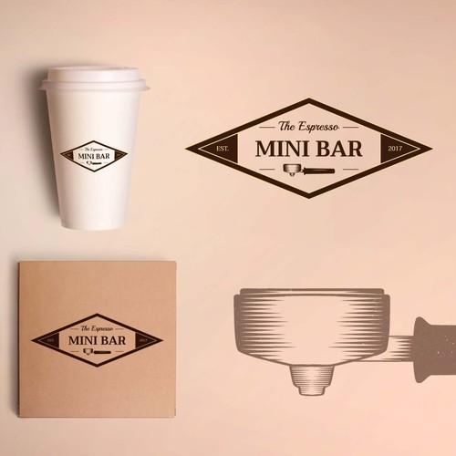 Retro logo for a coffee shop