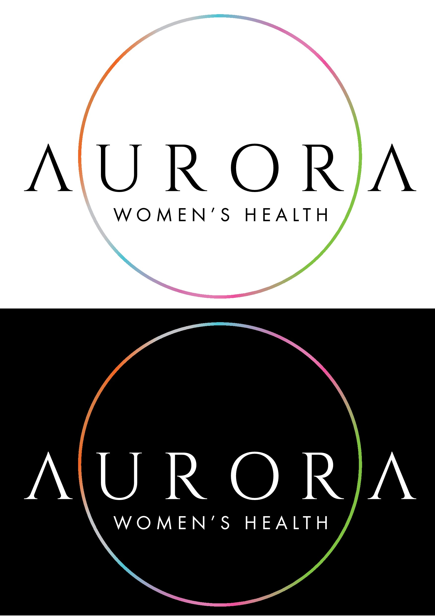 Create a logo representing a newer/refined way of providing women's health care