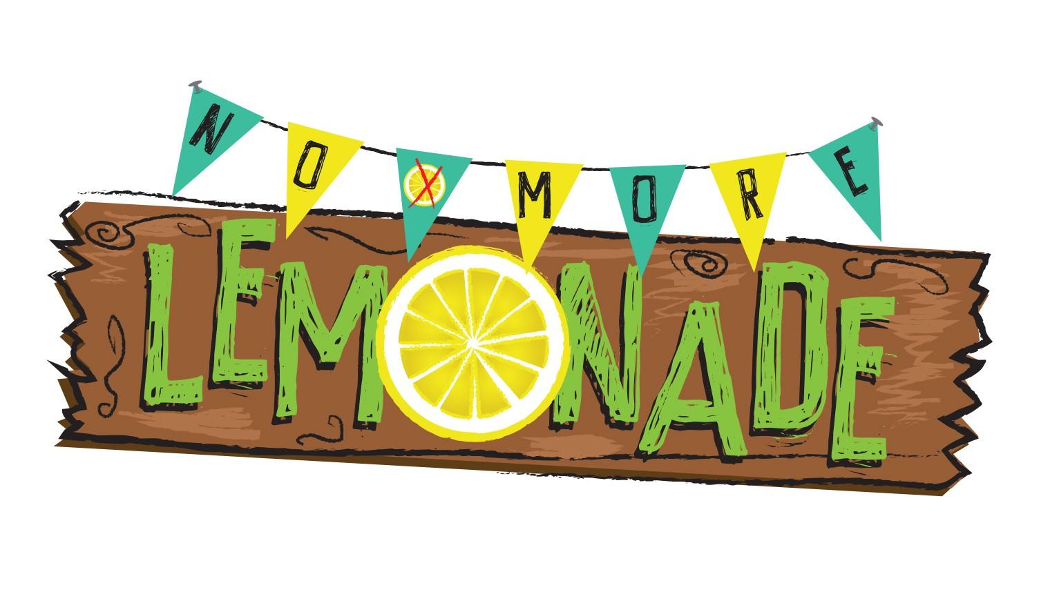 Lemonade stand concept logo