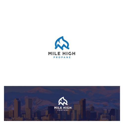 Logo Concept for Mile High Propane