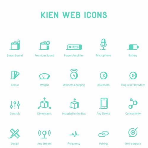 Kien Web Icons