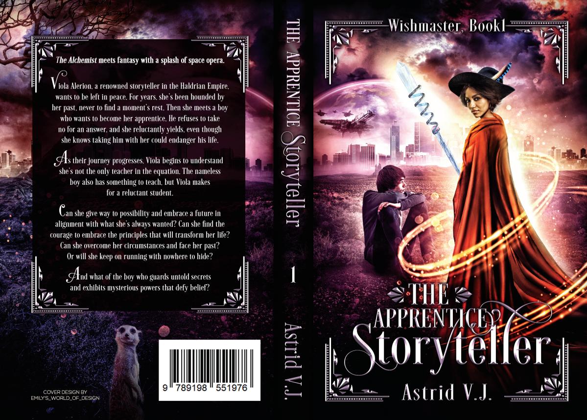 The Apprentice Storyteller paperback