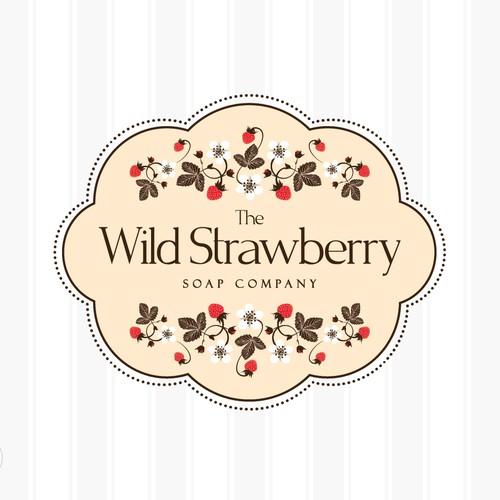 The Wild Strawberry Soap Company needs a new logo