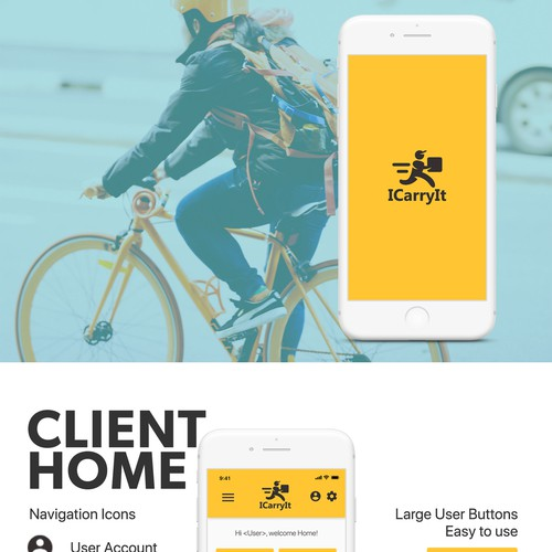 Courier App Design