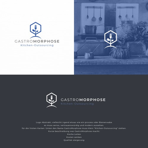Logo concept for GastroMorphose