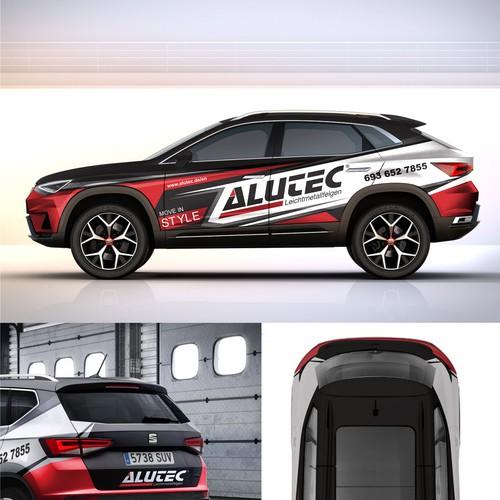 Car Wrap Design -Alutec