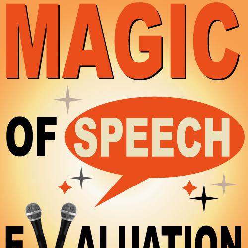 Great book cover needed for Magic of Speech Evaluation