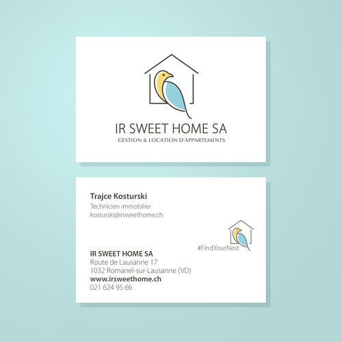 Logo Design and Business Cards Design project work