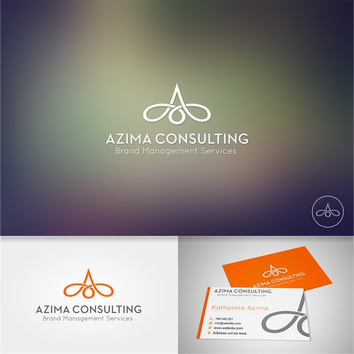 A unique stand out logo for a marketing consultant