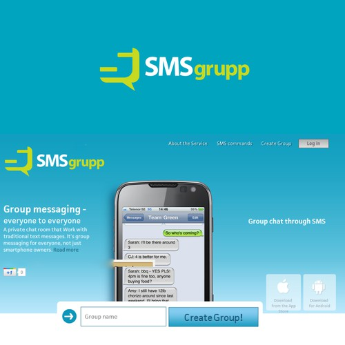 New logo wanted for Smsgrupp