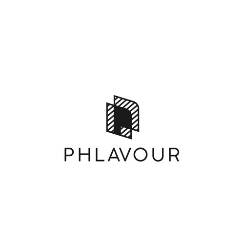 PHLAVOUR. Logo for a photography agency