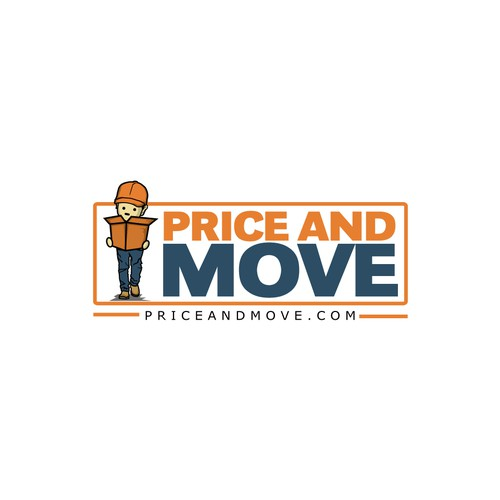 logo concept for price and move