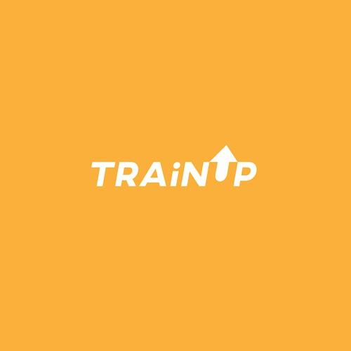 Bold Logo Design Concept for TRAINUP.