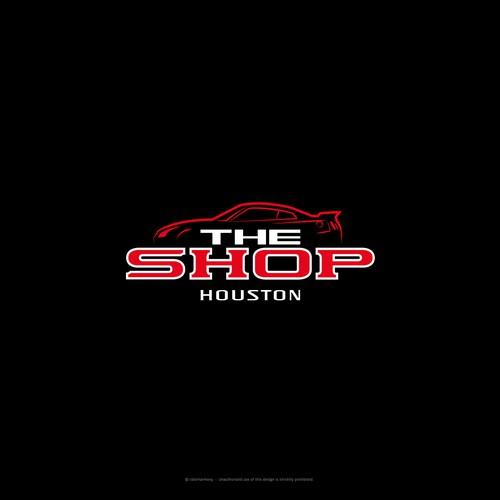 Unique logo concept for a Nissan GTR TuneUp Shop