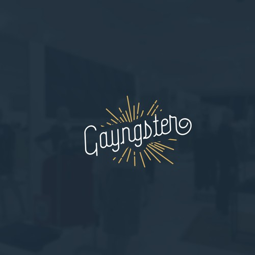 Logo design concept for Gayngster