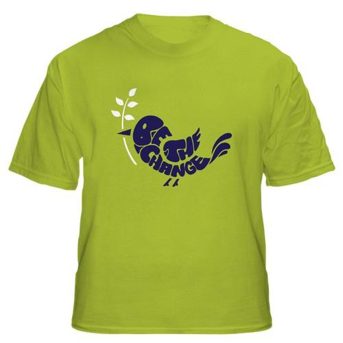 Be The Change Retro T-Shirt