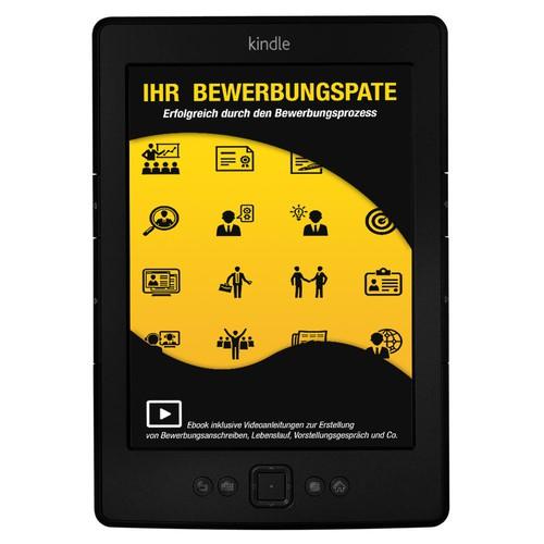 Cover Ebook-Reihe für Bewerbungsratgeber - Cover for ebook series of job guides