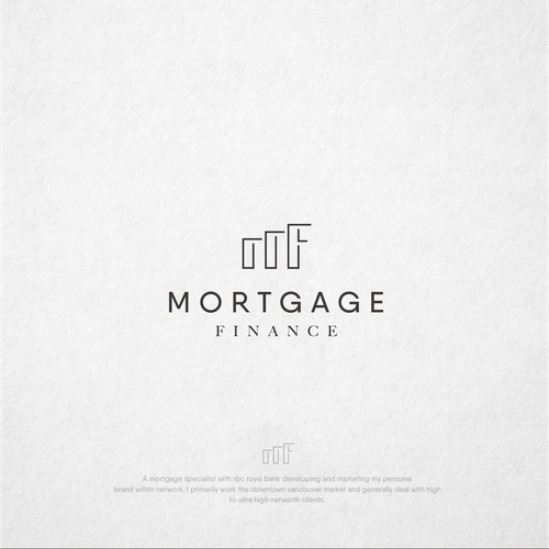 Concept logo finance