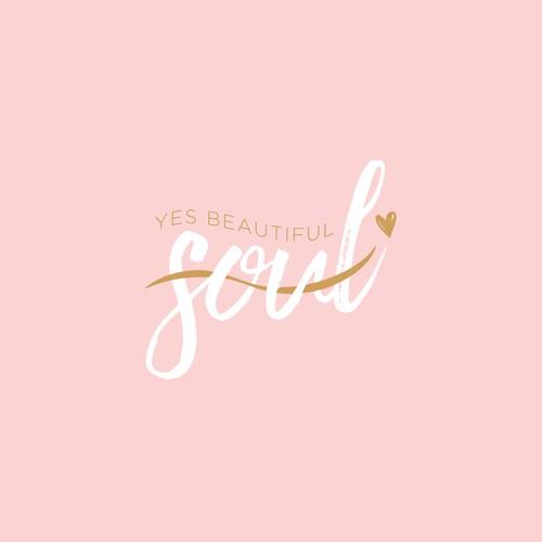 Yes, Beautiful Soul Custom Logo Design