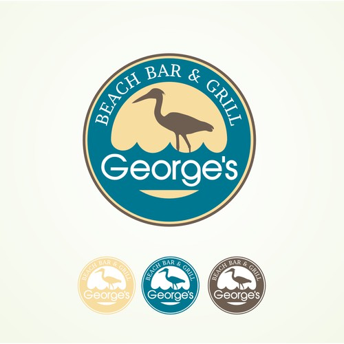 George's Beach Bar & Grill needs a new logo