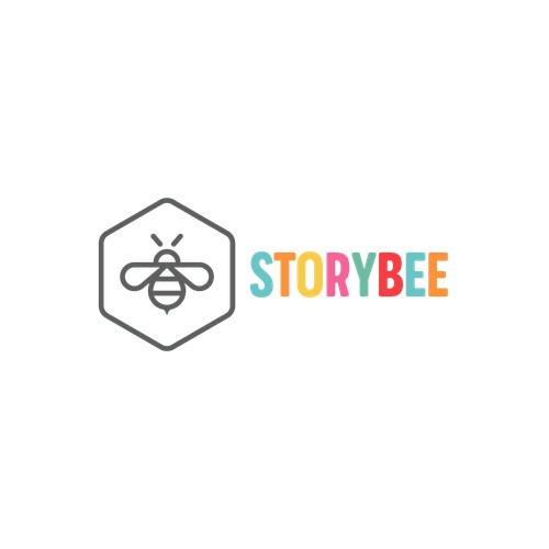 Logo concept for StoryBee