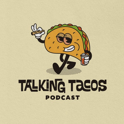 Logo for a podcast