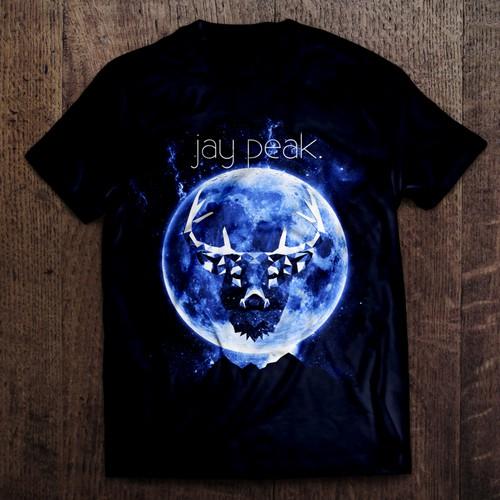Mountain Inspired T-Shirt Design