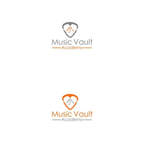 Logo Design For A Music School