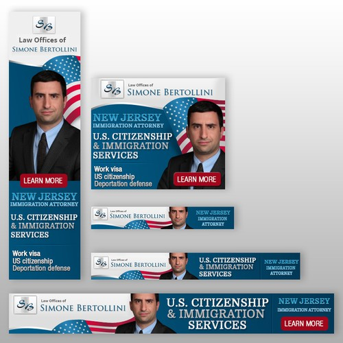 Banners for Immigration Law Firm