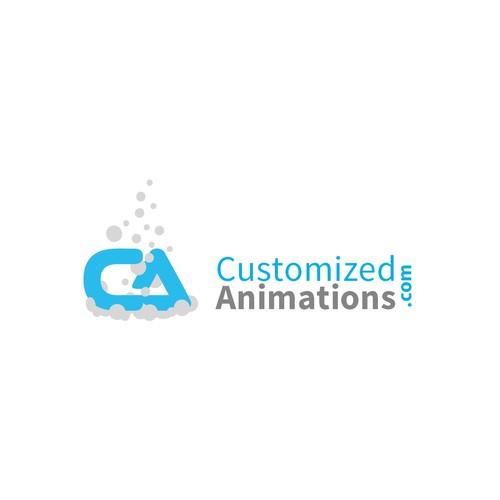 animated style logo
