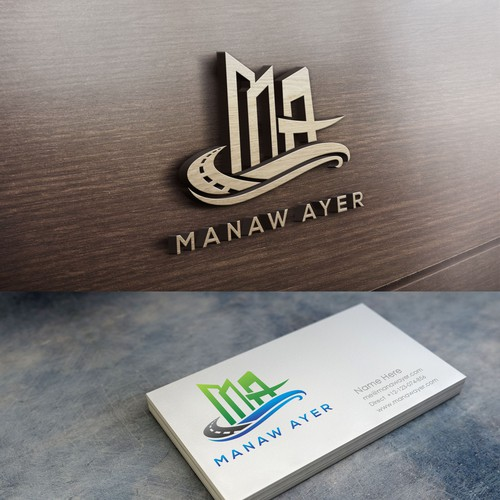Design for Manaw Ayer Construction Corporation.