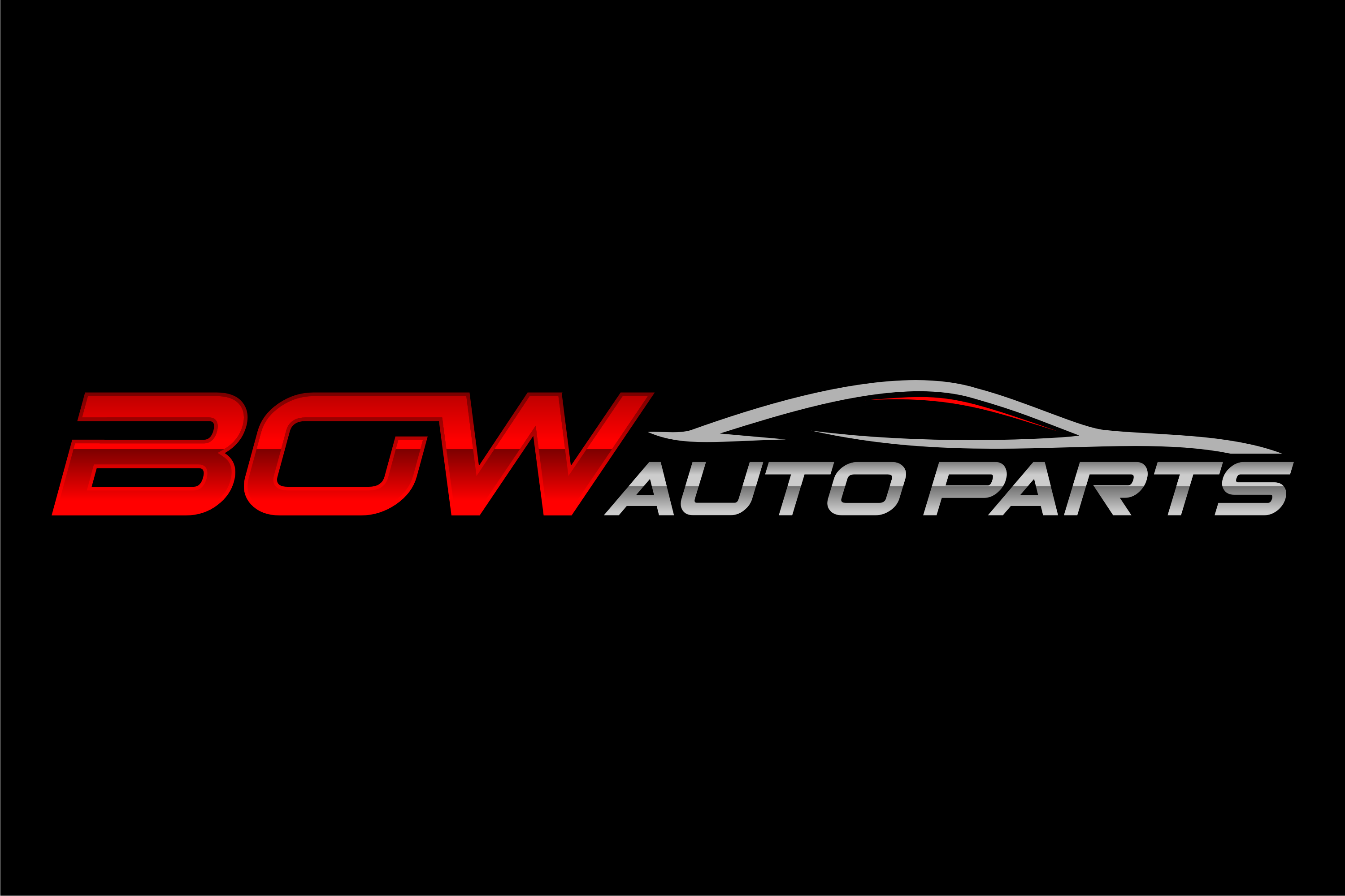 Create a hip new modern logo for Bow Auto Parts