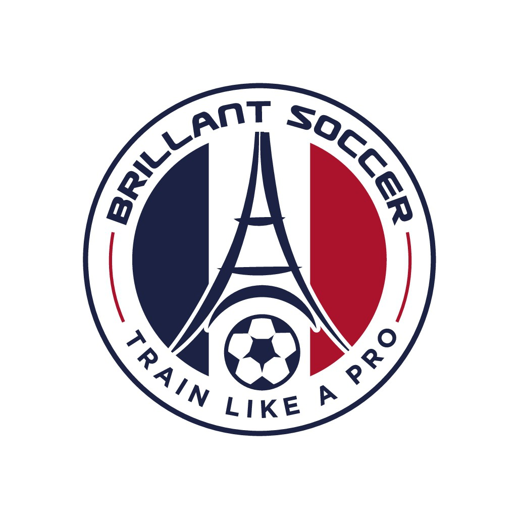 design a Soccer Academy logo with French's touch