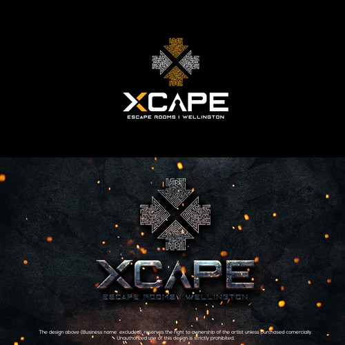 Logo design for Escape Rooms