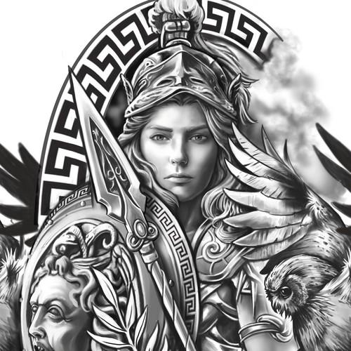 Athena half sleeve
