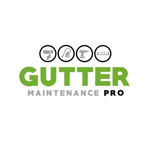 Logo Design for Gutter Maintenance Company