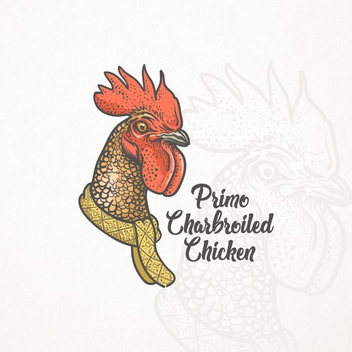 Primo charbroiled chicken