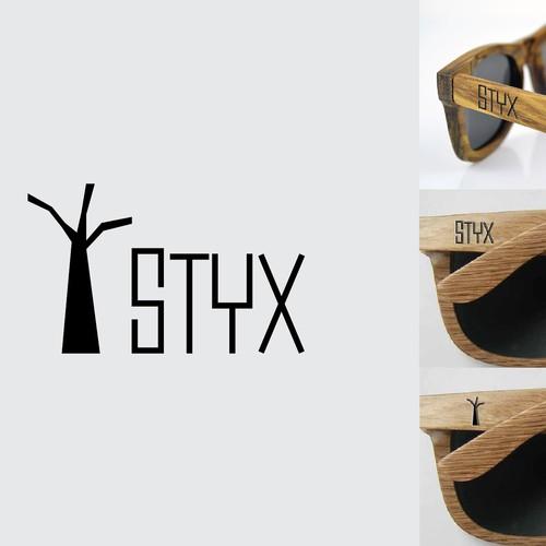 Logo for earth friendly sunglasses