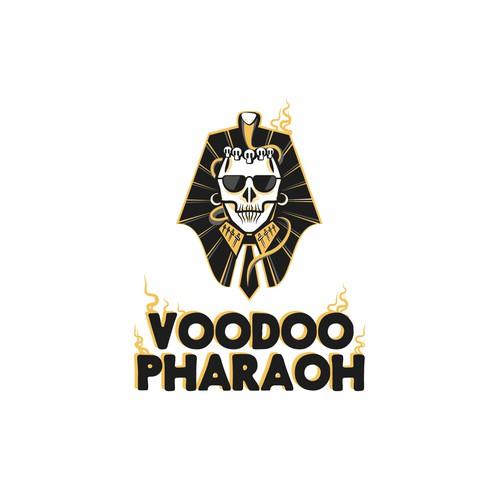 "Logo concept for ""Voodoo Pharaoh"""