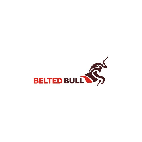 Creative Bold Design for Belted Bull