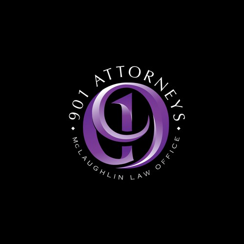Bold logo for a law firm