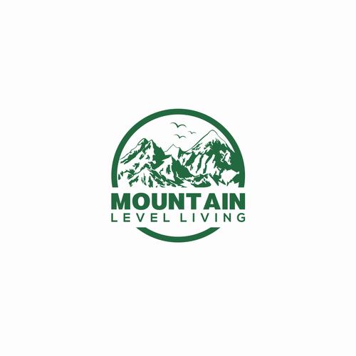 mountain logo concept