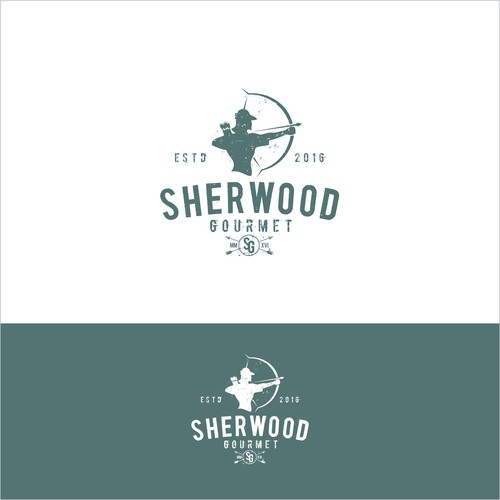 logo for gourmet food and beverages